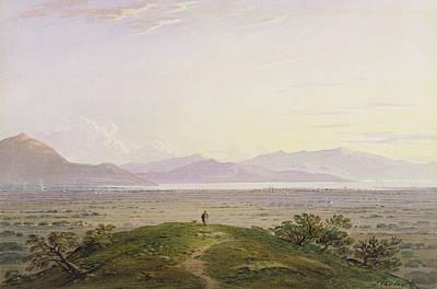 The Plains Of Marathon Print by John Varley