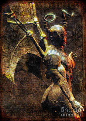 Cthulhu Digital Art - The Pnakotic Manuscripts by Luca Oleastri