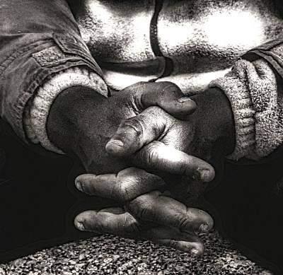The Prayer Print by Kenneth Mucke