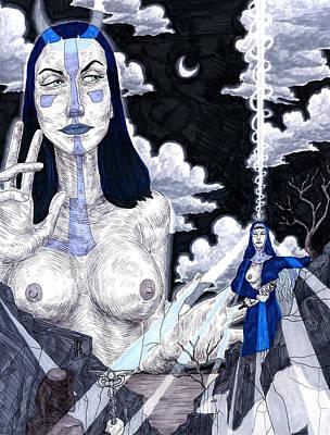 The Priestess Original by Jeremy Baum