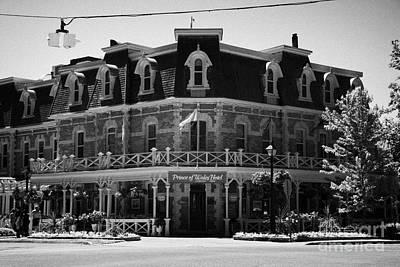 The Prince Of Wales Hotel Niagara-on-the-lake Ontario Canada Print by Joe Fox