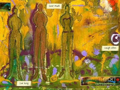 The Purpose Seekers Print by Angela L Walker