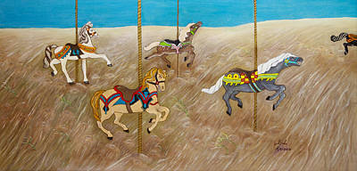 The Race Original by Linda Krider Aliotti