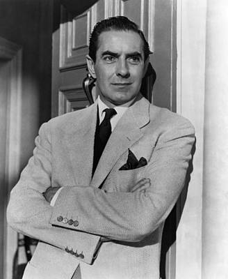 1950s Movies Photograph - The Rising Of The Moon, Tyrone Power by Everett
