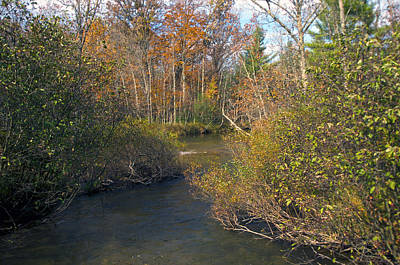 Autumn Photograph - The River In Fall by Sheryl Thomas