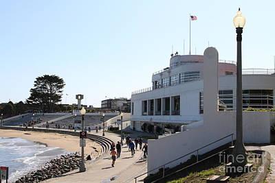 The Sala Burton Building . Maritime Museum . San Francisco California . 7d13993 Print by Wingsdomain Art and Photography