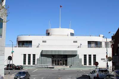 The Sala Burton Building . Maritime Museum . San Francisco California . 7d14087 Print by Wingsdomain Art and Photography