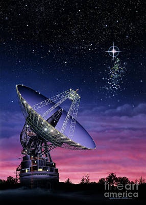 Painting - The Search For Extraterrestrial Intelligence by Lynette Cook