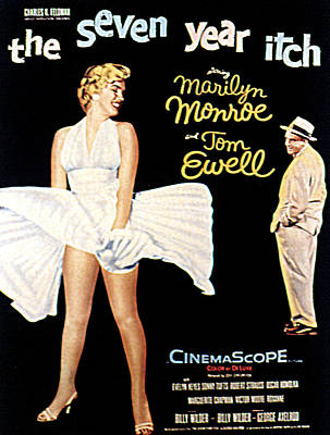 The Seven Year Itch, The, Marilyn Print by Everett