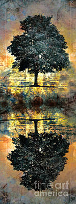 Fantasy Tree Art Digital Art - The Small Dreams Of Trees by Tara Turner