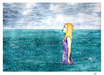 Painting - The Sound Of The Rain  by Katchakul Kaewkate