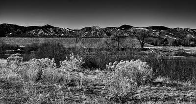 The South Platte Park Landscape II Print by David Patterson