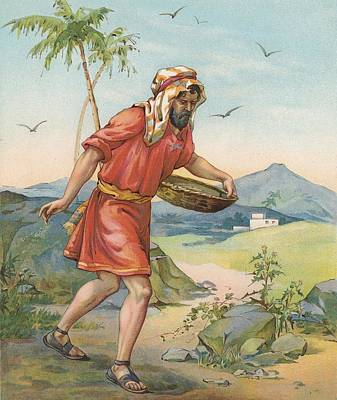 The Sower Print by Ambrose Dudley