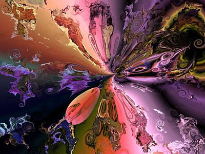 Algorithmic Digital Art - The Splendor Of Creation by Claude McCoy
