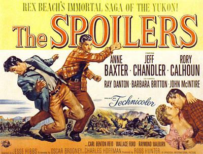 The Spoilers, Rory Calhoun, Jeff Print by Everett