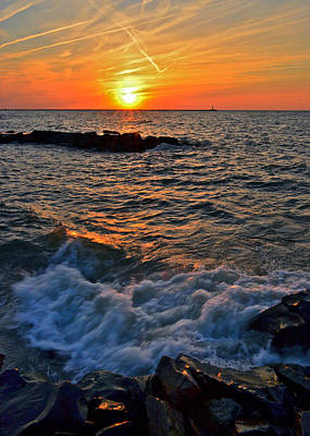 The Sun Is Wearing Shades Print by Frozen in Time Fine Art Photography