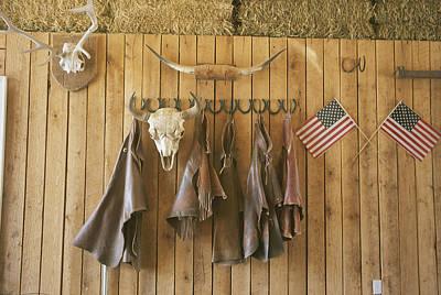 The Tack Room At Saddleback Ranch Print by Taylor S. Kennedy