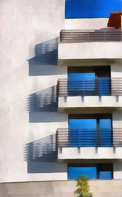 The Terraces Print by Odon Czintos
