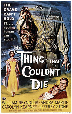 The Thing That Couldnt Die, 1958 Print by Everett