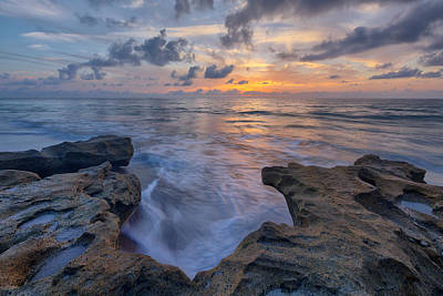 Photograph - The Tide Rushes In by Claudia Domenig