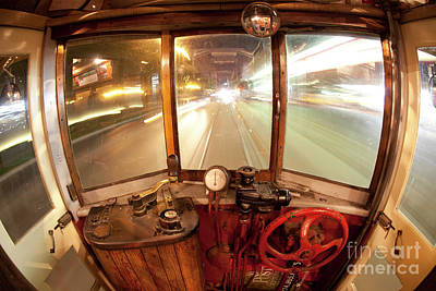 Trolly Photograph - The Time Machine by Keith Kapple