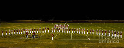 Marching Band Photograph - The United States Marine Band by Robert Bales