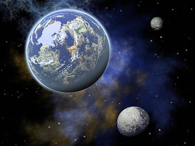 The Universe Print by Jay Lethbridge