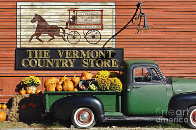 Vermont Country Store Photograph - The Vermont Country Store by John Greim