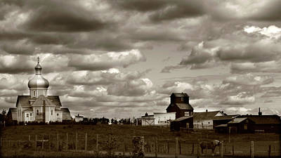 The Village Print by JC Photography and Art