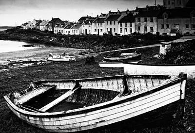 Islay Photograph - The Village Of Portnhaven, Scotland by John Short
