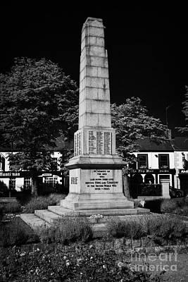 The War Memorial Newtownards County Down Northern Ireland Print by Joe Fox