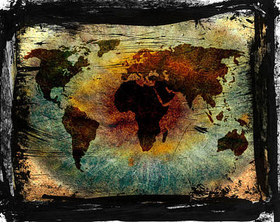 The Warning Worlds  Print by JC Photography and Art
