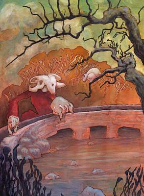 The Water Shepherd Original by Ethan Harris