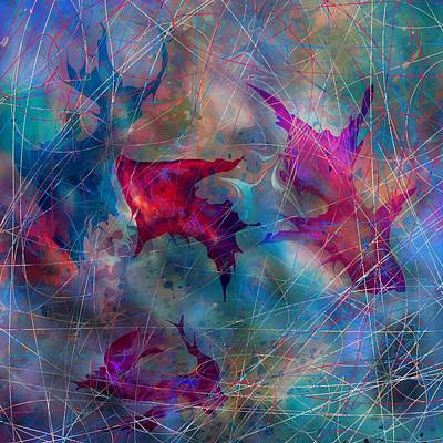The Webs Of Life Print by Rachel Christine Nowicki