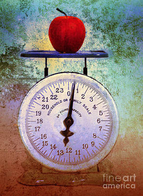 The Weight Of An Apple Print by Tara Turner