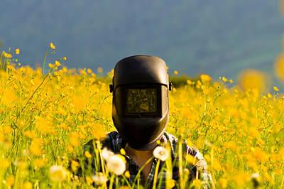 Odd Portrait Photograph - The Welding Fields by Justin Albrecht