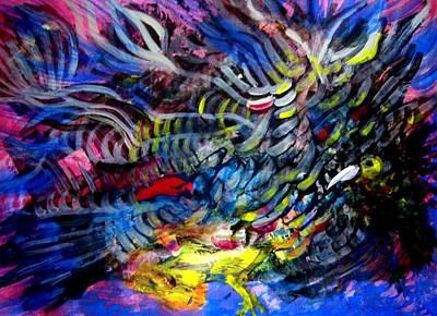 Loser Painting - The Winner by Aquira Kusume