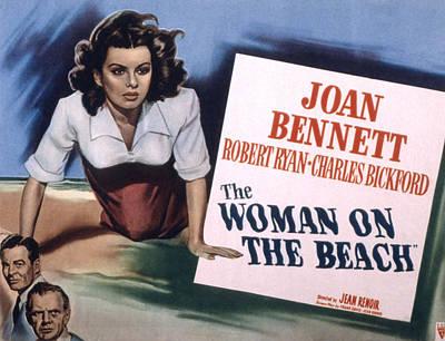 Joan Bennett Photograph - The Woman On The Beach, Joan Bennett by Everett