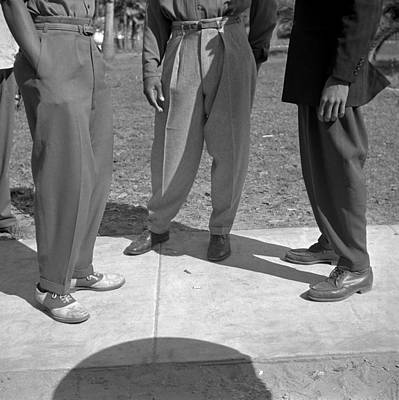 The Zoot Suit Styled Trousers, Called Print by Everett