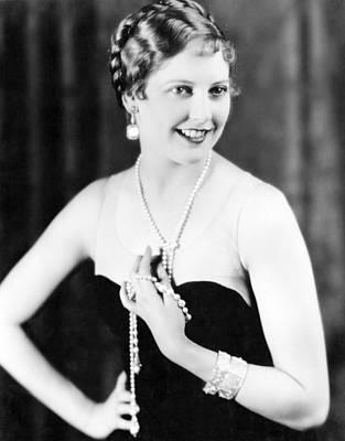 Thelma Photograph - Thelma Todd, Ca. 1920s by Everett