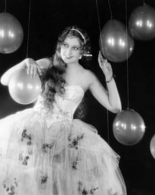 Thelma Photograph - Thelma Todd, Ca. 1930 by Everett
