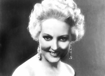 Thelma Photograph - Thelma Todd, Ca. 1932 by Everett