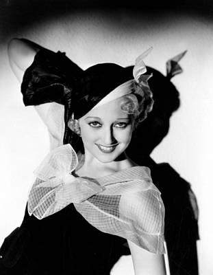 Thelma Photograph - Thelma Todd, Hal Roach Studios, 1933 by Everett