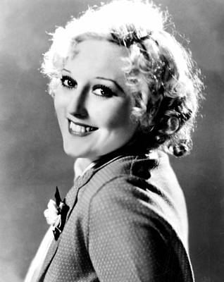 Thelma Photograph - Thelma Todd, Mgm, Ca 1933 by Everett