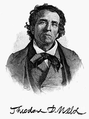 Abolition Photograph - Theodore D. Weld (1803-1895) by Granger