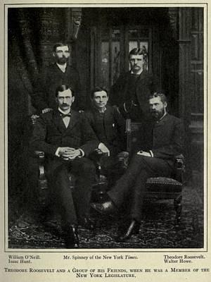Theodore Roosevelt Upper Right Print by Everett
