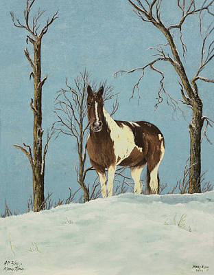 There Is A Season Print by Mary Ann King