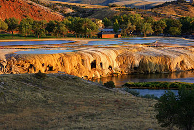 Thermopolis Photograph - Thermopolis Spring by Holst Photography