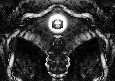 Transcend Photograph - Third Eye Visualisation by David Kleinsasser