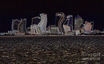 This City Is Rockin' Print by Carol Groenen